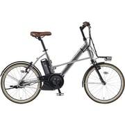 PA20CX [電動アシスト自転車 PAS CITY-X (パス シティ エックス) 2019年モデル 20インチ 12.3Ah 内装3段変速 ミラーシルバー2]