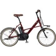 PA20CX [電動アシスト自転車 PAS CITY-X (パス シティ エックス) 2019年モデル 20インチ 12.3Ah 内装3段変速 ダークメタリックレッド2]