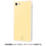 IQ-P7K2C/CY [iPhone 8/7 耐衝撃ガラスケース KAKU シルク/クリームイエロー]