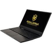 GNBC505T [15インチゲーミングPC/インテル Core i5-8300H/GTX1050Ti 4GB/メモリ 8GB/SSD 250GB/Windows 10 Home 64ビット]