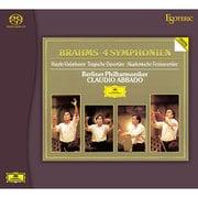 ESSG-90192/94 3枚組 ブラームス:交響曲全集 他 クラウディオ・アバド(指揮) ベルリン・フィルハーモニー管弦楽団 [Super Audio CDハイブリッドソフト]