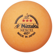 NB1150 [卓球 公認球 カラー3スター ネクセル 3個入]