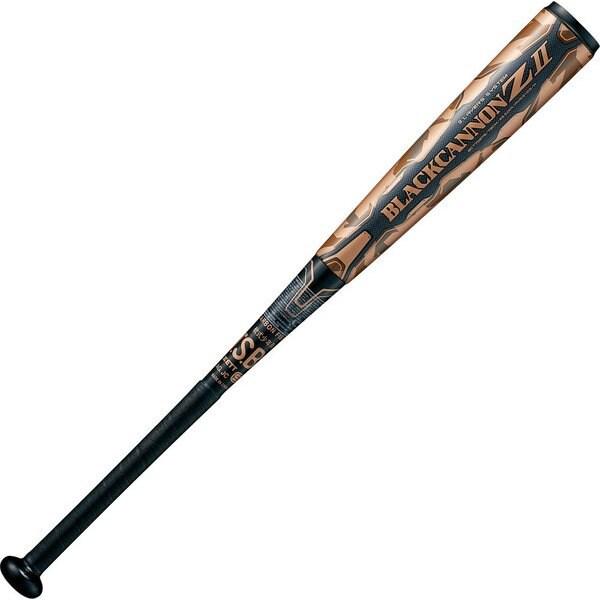 BCT75878 [野球 少年軟式野球用 FRP(カーボン)製バット ブラックキャノンゼット 78cm BLACKCANNON Z2 新球J号ボール対応品 ブラック]