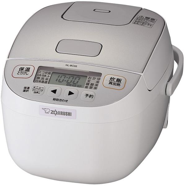 NL-BC05-WA [炊飯ジャー 3合炊き 小容量マイコン]