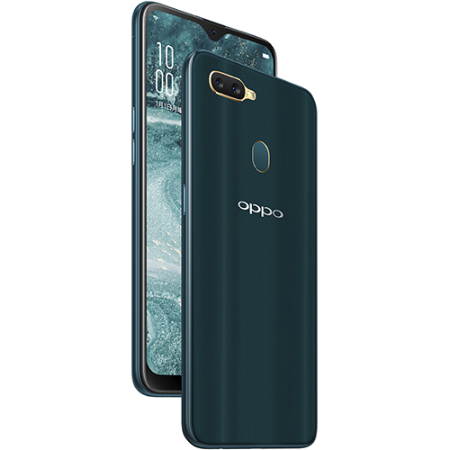 OPPO AX7 ブルー [SIMフリースマートフォン]