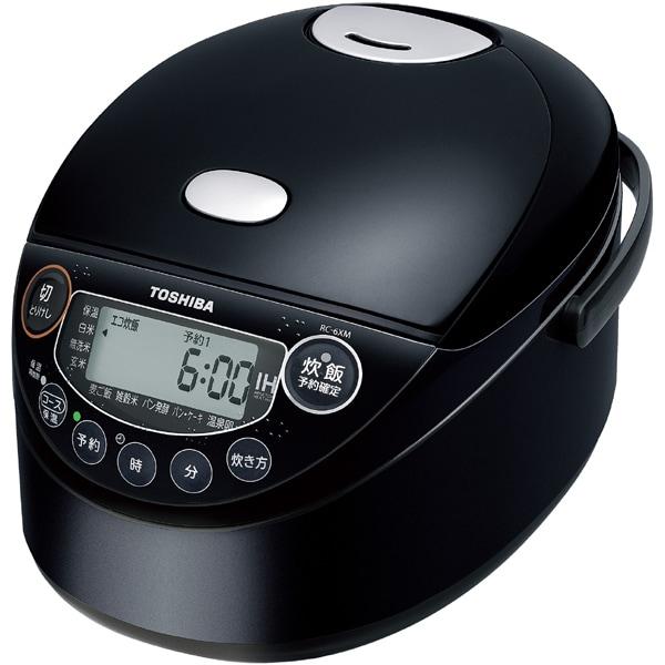 RC-6XM(K) [IH小型炊飯器 3.5合炊き ブラック]