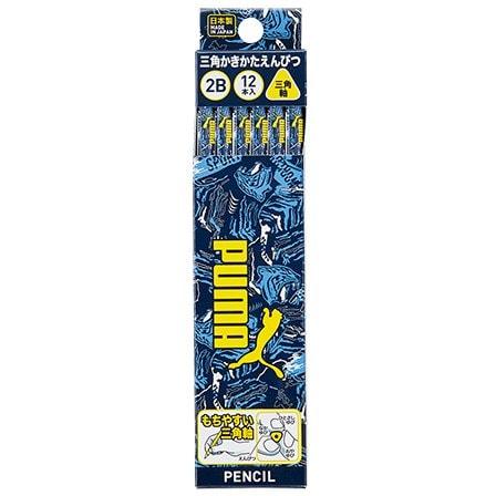 PM205 [PUMA 三角かきかた鉛筆(2B)紙箱入]