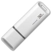 HDUF113C32G2 [HIDISC USB 2.0 フラッシュドライブ 32GB 白 キャップ式]