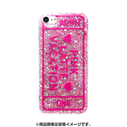 74231 [iPhone 8/iPhone 7 対応ケース PINK-latte ADMT ONE/ピンク ラメ]