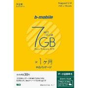 BM-GTPL4-1M-P b-mobile 7GB×1ヶ月SIM(ドコモ)申込パッケージ