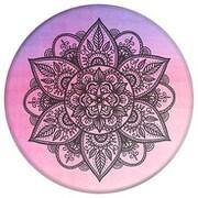 Charcoal Mandala YOGA VIBES [ポップソケッツ]