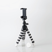P-STFLRGY [スマートフォン用 フレキシブル三脚 Bluetoothリモコン付 ブラック×グレー]