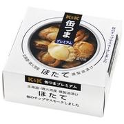 缶つま 北海道ほたて 燻製油漬け F3号缶 [缶詰]