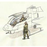 CMF72349 AH-1用 パイロット&地上員 [1/72 プラモデル]