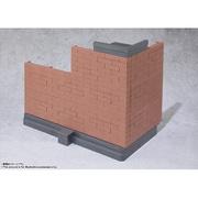 魂OPTION Brick Wall Brown ver. [フィギュア用アクセサリー]