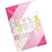NIU0003S-A nicousa メモ帳 [キャラクターグッズ]