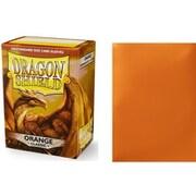 10013 ドラゴンシールド スタンダード オレンジ 63×88mm用 100枚入り [トレーディングカード用品]