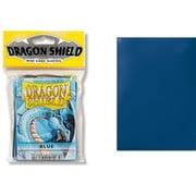 10103 ドラゴンシールド ジャパニーズ ブルー 59×86mm用 50枚入り [トレーディングカード用品]