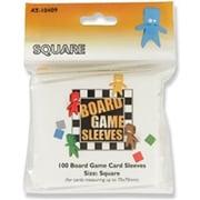 10409 ボードゲームスリーブ Square 69×69mm用 100枚入り [トレーディングカード用品]