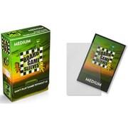 10423 ボードゲームスリーブ Non-Glare Medium 57×89mm用 50枚入り [トレーディングカード用品]