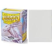11005 ドラゴンシールドマット スタンダード ホワイト 63×88mm用 100枚入り [トレーディングカード用品]