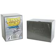 20008 ドラゴンシールド Gaming Box シルバー [トレーディングカード用品]
