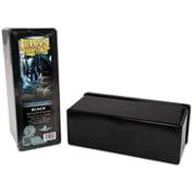 20302 ドラゴンシールド 4コンパートメントボックス ブラック [トレーディングカード用品]