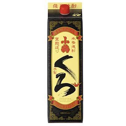 小正醸造 小鶴・くろ 芋 25度 1800ml [焼酎]