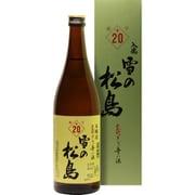 雪の松島 本醸造 入魂超辛 +20 19度 720ml [日本酒]