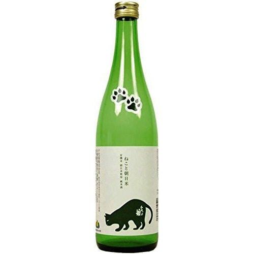 純米 ねこと朝日米 15度 720ml [日本酒]