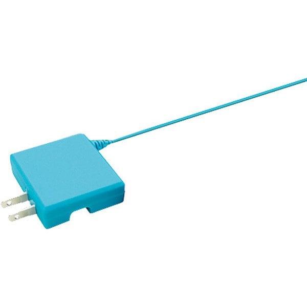 ANS-SW070BL [Nintendo Switch用 カラフルACアダプタ ブルー]