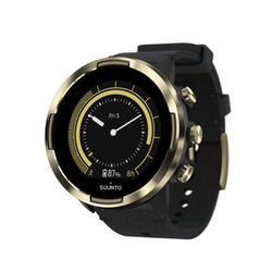 SUUNTO 9 G1 BARO GOLD LEATHER SS050256000 [スポーツウォッチ]