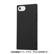 IN-P7STK1/B [iPhone 7/iPhone 8対応 耐衝撃ソフトケース KAKU ブラック]