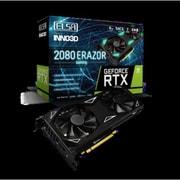 GD2080-8GERES ELSA GeForce RTX 2080 ERAZOR GAMING [グラフィックボード]