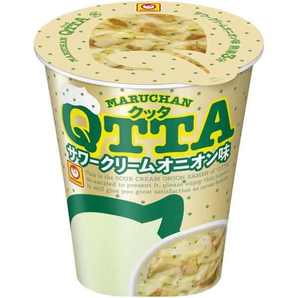限定 MARUCHAN QTTA サワークリームオニオン味 87g