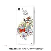 IQ-DP7K2C/SW001 [iPhone 8/iPhone 7対応 ディズニーキャラクター OTONA 耐衝撃ガラスケース KAKU SILK]