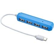 UH-C2474LB [USB2.0 ハブ Type-C 4ポート ライトブルー]