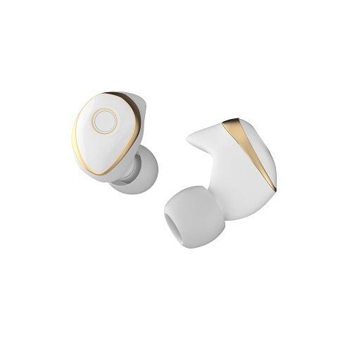MS-TW01-WG [Bluetooth 5.0 搭載 完全分離ワイヤレスイヤホン ホワイト/シャンパンゴールド]