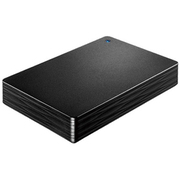 HDPH-UT2DKR [USB 3.1 Gen 1/2.0対応ポータブルハードディスク カクうす Lite 2TB ブラック]
