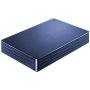 HDPH-UT2DNVR [USB 3.1 Gen 1/2.0対応ポータブルハードディスク カクうす Lite 2TB ミレニアム群青]