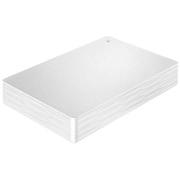 HDPH-UT2DWR [USB 3.1 Gen 1/2.0対応ポータブルハードディスク カクうす Lite 2TB ホワイト]