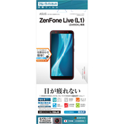 E1584550KL [ZenFone Live L1 ZA550KL用 ブルーライトカット高光沢フィルム]