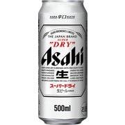 アサヒ スーパードライ 5度 500ml×24缶(ケース) [ビール]