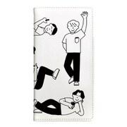OD-0550-IP67-WHIT [iPhone 8/7 手帳型ケース ギズモビーズ わかる たくさんの人 ホワイト]