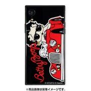 AB-0946-IPXR-BLAK [iPhone XR ガラスケース ギズモビーズ スクエア型 ベティー ブープ CAR]