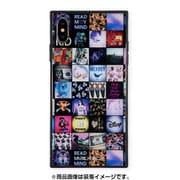 BJ-0001-IPXM-MLTI [iPhone XS Max ガラスケース ギズモビーズ スクエア型 ミルクボーイ INSTAGRAM PATTERN]