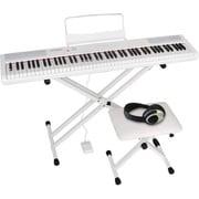 PERFORMER/WH set [電子ピアノ 88鍵 ベロシティセンシティビティキー ホワイト 4点セット]
