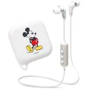 PG-BTE1SD02MKY [Bluetooth対応 ステレオワイヤレスイヤホン シリコンポーチ付き ミッキーマウス ホワイト]