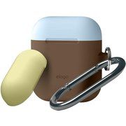 EL_APDCSSCDH_DB [AIRPODS DUO HANG CASE for AirPods Dark Brown]