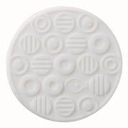 COS-44 [コースター 水玉シリコン ホワイト]